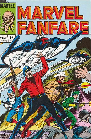 Marvel Fanfare (1982) 16-A by Marvel