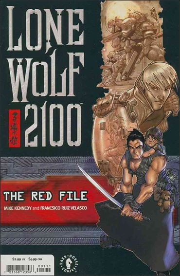Lone Wolf 2100: The Red File 1-A by Dark Horse