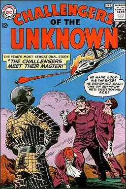 Challengers of the Unknown (1958) 33-A by DC