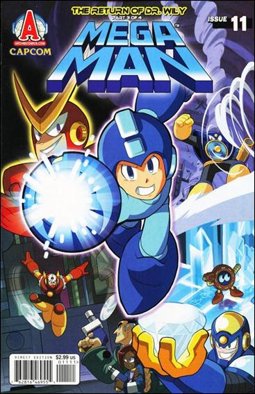 Mega Man 11-A by Archie