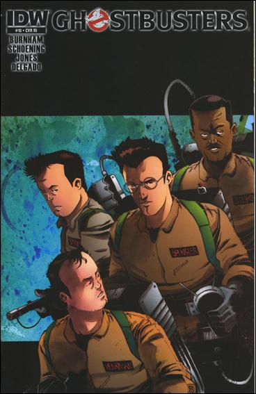 Ghostbusters (2011) 10-C by IDW