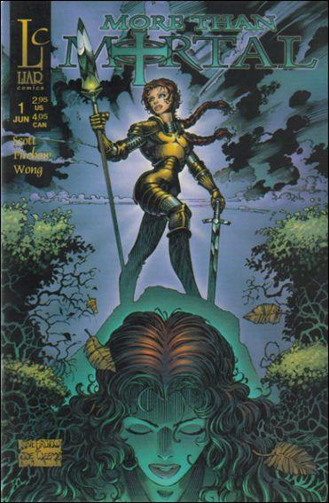 More Than Mortal (1997) 1-B by Liar Comics