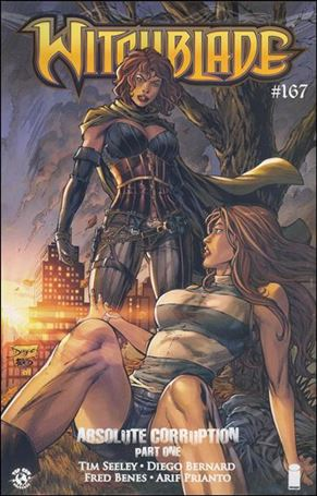 Witchblade 167-B