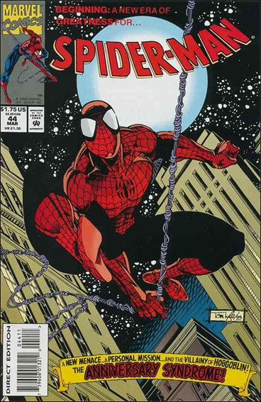 Spider-Man (1990) 44-A by Marvel