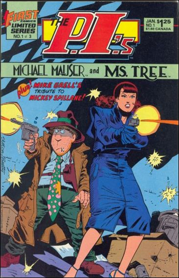 P.I.'s: Michael Mauser and Ms. Tree 1-A by First