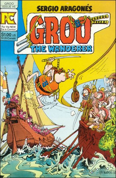 Groo the Wanderer 5-A by Pacific