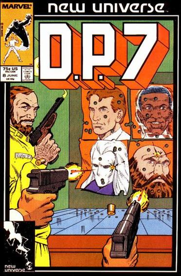 D.P.7 8-A by Marvel
