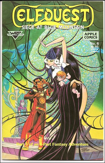 Elfquest: Siege at Blue Mountain 6-A by Apple