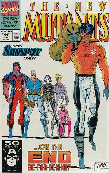 New Mutants (1983) 99-A by Marvel