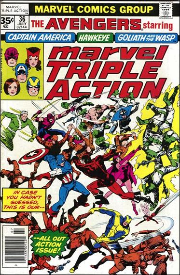 Marvel Triple Action (1972) 36-B by Marvel