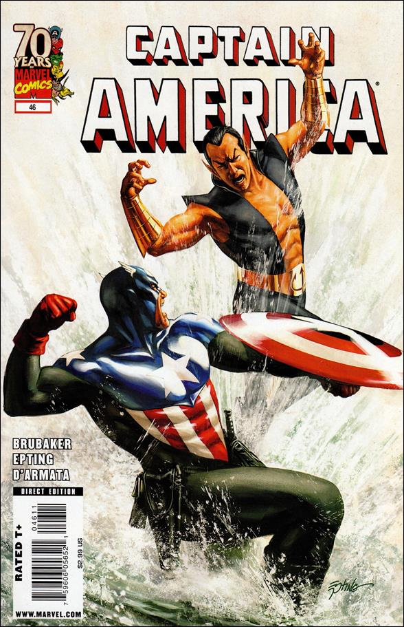 Captain America (2005) 46-A by Marvel