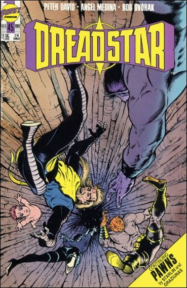Dreadstar (1982) 45-A by Epic