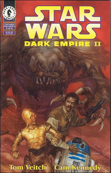 Star Wars: Dark Empire II 5-A by Dark Horse