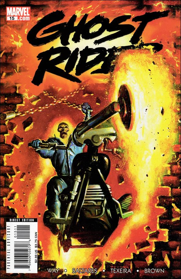 Ghost Rider (2006) 15-A by Marvel
