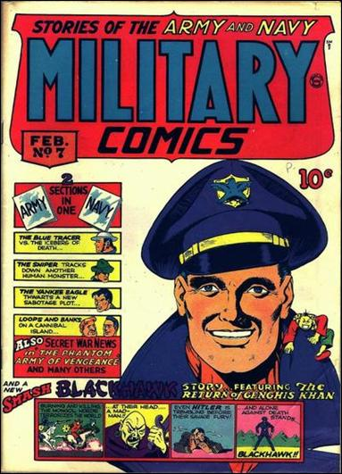 Military Comics 7-A by Comic Magazines