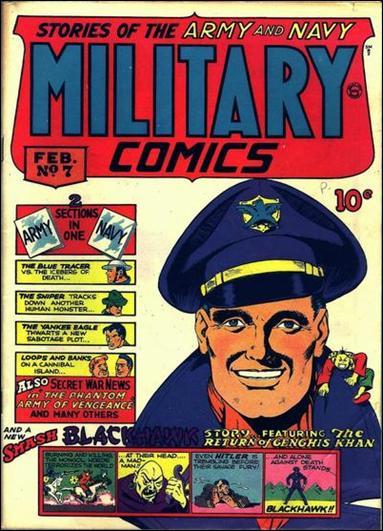Military Comics 7-A by Comic Magazines