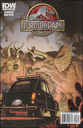 Jurassic Park (2010) 2-B by IDW