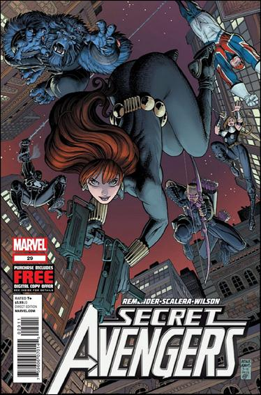 Secret Avengers (2010) 29-A by Marvel