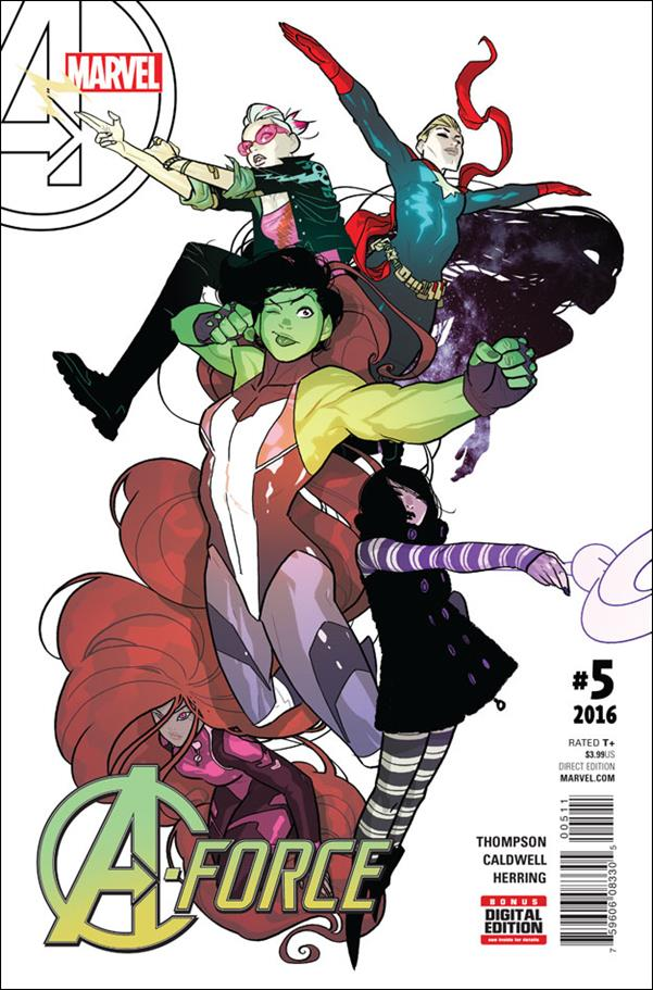 A-Force (2016) 5-A by Marvel