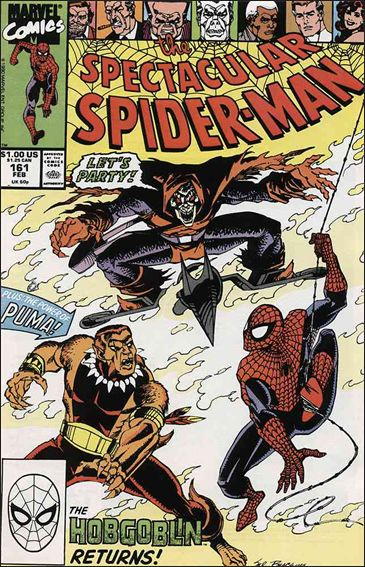 Spectacular Spider-Man (1976) 161-A by Marvel