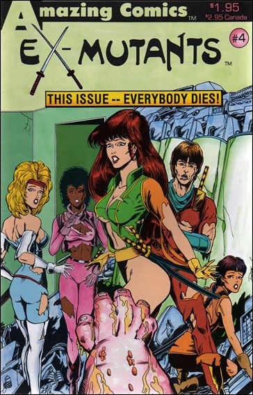 Ex-Mutants (1986) 4-A by Eternity