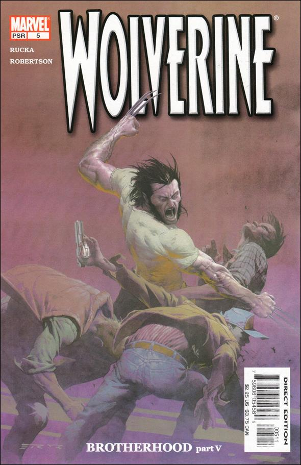 Wolverine (2003)  5-A by Marvel