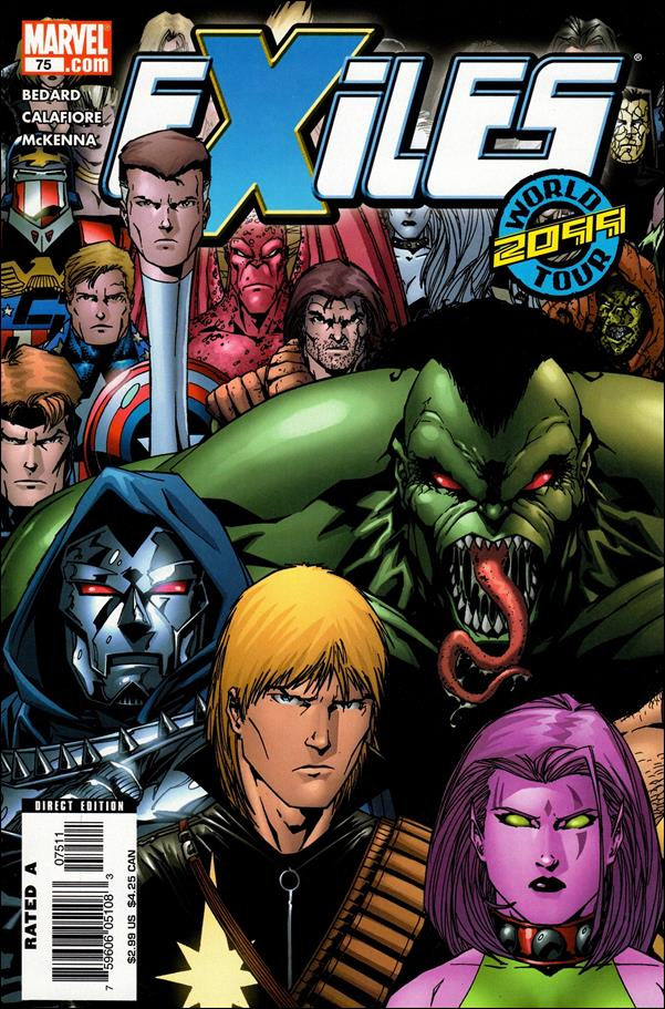 Exiles (2001) 75-A by Marvel