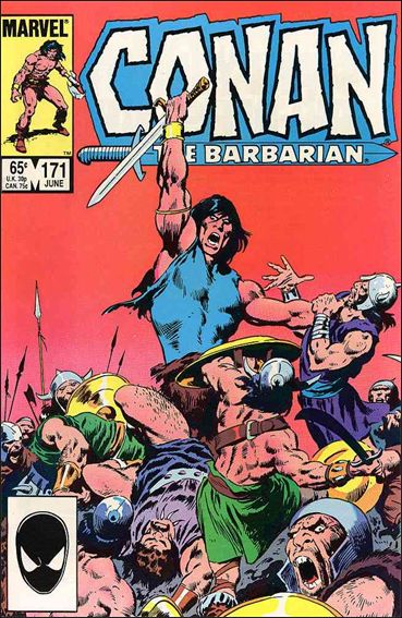 Conan the Barbarian (1970) 171-A by Marvel