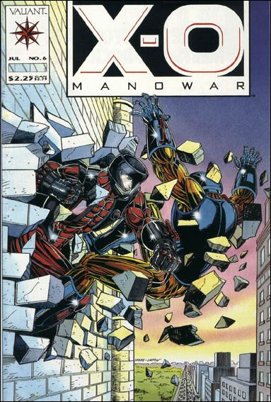 X-O Manowar (1992) 6-A by Valiant