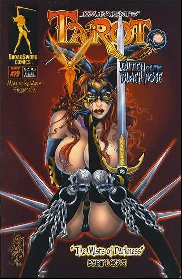 Tarot: Witch of the Black Rose 19-B by BroadSword Comics