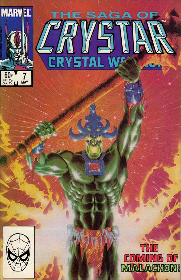 Saga of Crystar Crystal Warrior 7-A by Marvel