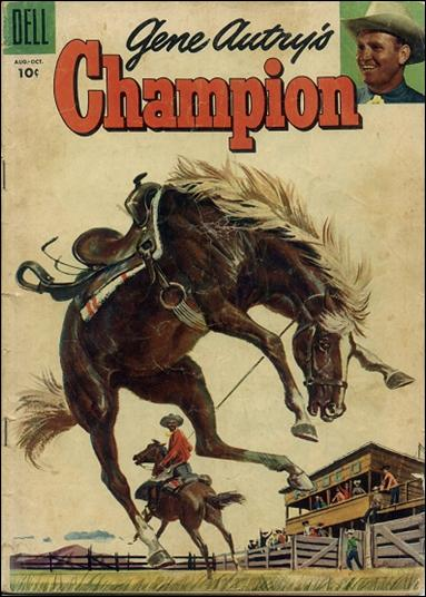 Gene Autry's Champion 19-A by Dell