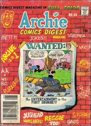 Archie Comics Digest Magazine 43-A