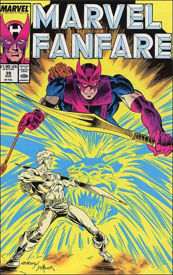 Marvel Fanfare (1982) 39-A by Marvel