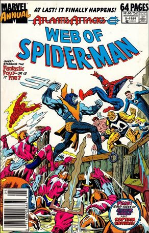 Web of Spider-Man Annual 5-A