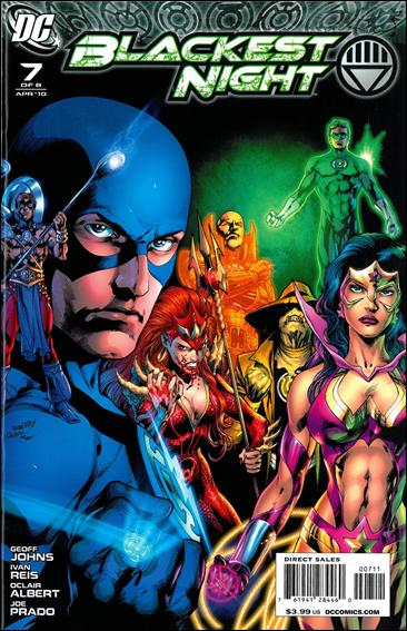 Blackest Night 7-A by DC