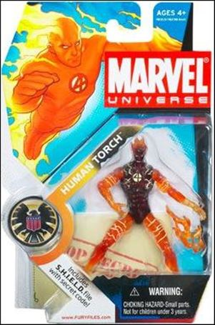 Marvel Universe (Series 1) Human Torch (Flames)