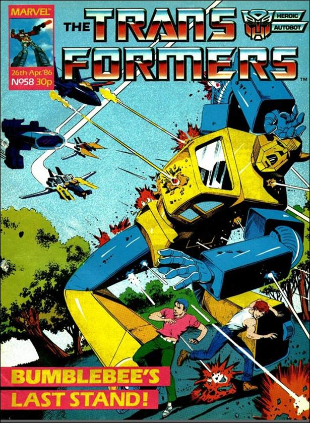 Transformers (UK) 58-A by Marvel UK