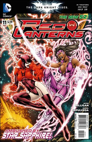 Red Lanterns 11-A by DC