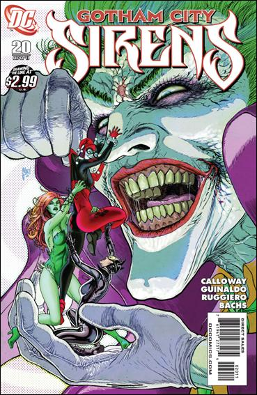 Gotham City Sirens 20-A by DC