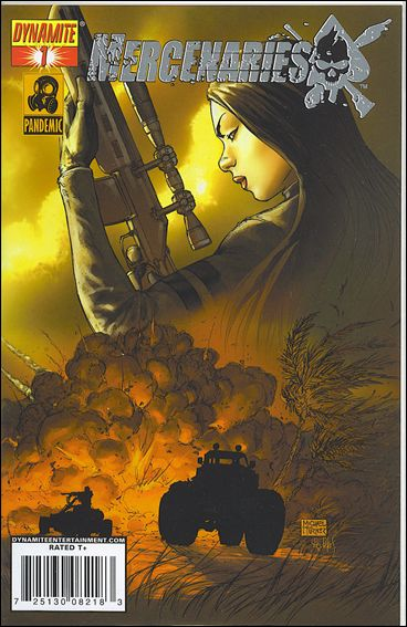 Mercenaries 1-E by Dynamite Entertainment