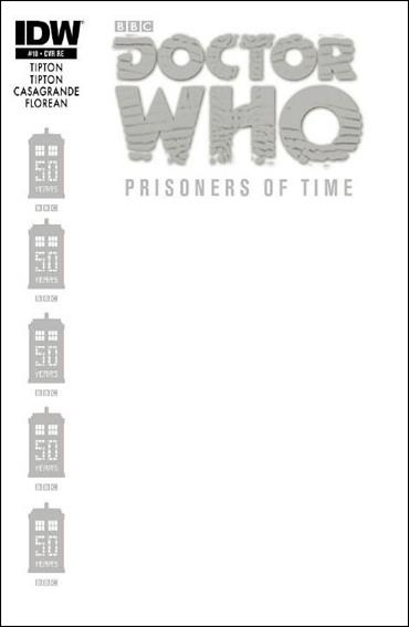 Doctor Who: Prisoners Of Time  10-F by IDW