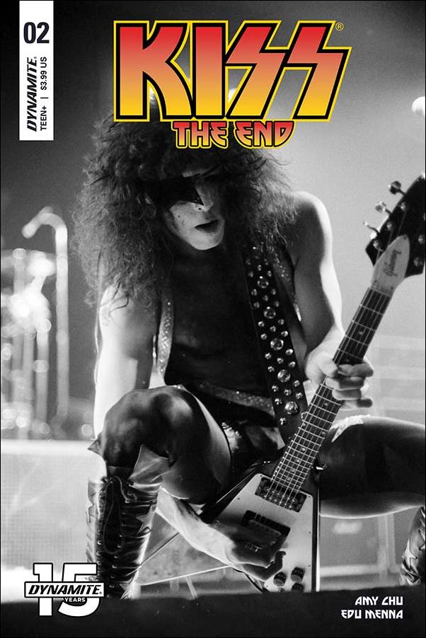 Kiss: The End 2-D by Dynamite Entertainment