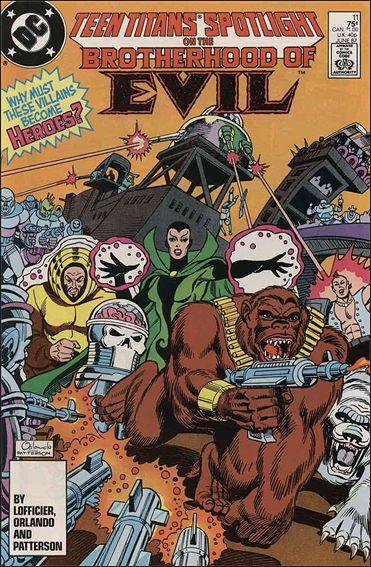 Teen Titans Spotlight 11-A by DC