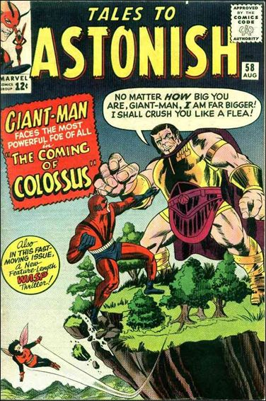 Tales to Astonish (1959) 58-A by Marvel