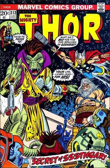 Thor (1966) 212-A by Marvel