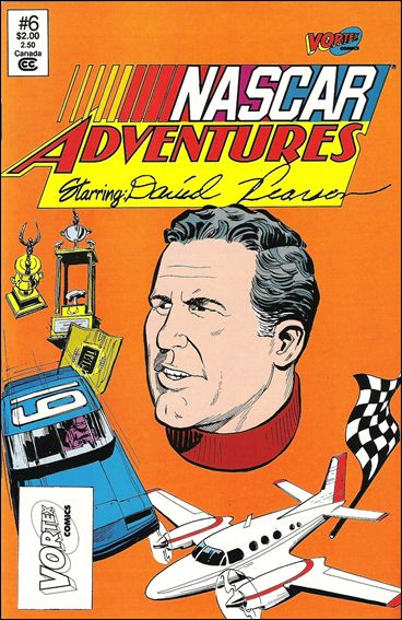 NASCAR Adventures 6-A by Vortex Comics
