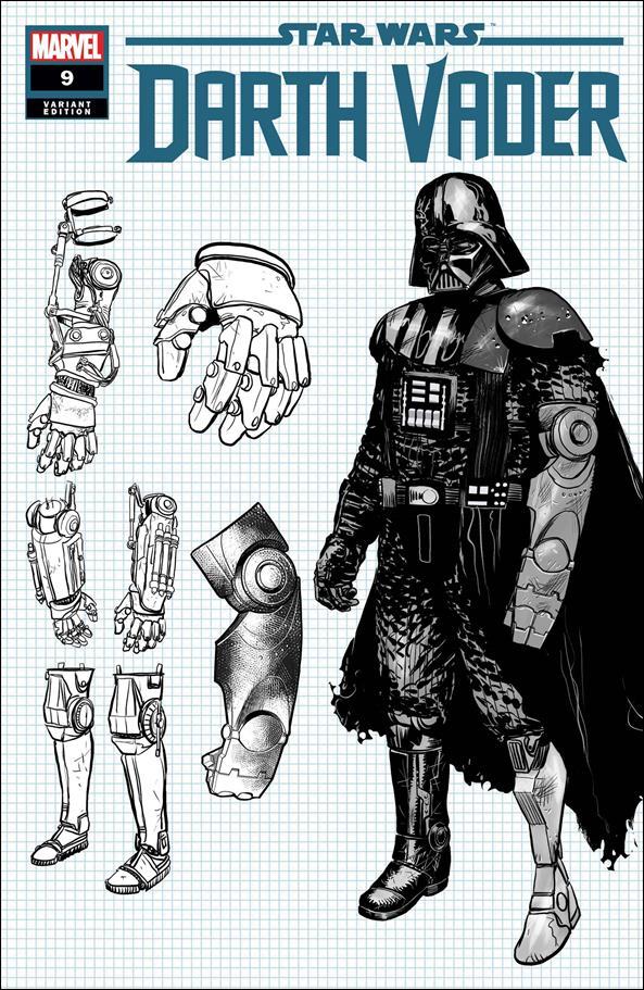Star Wars: Darth Vader 9-C by Marvel