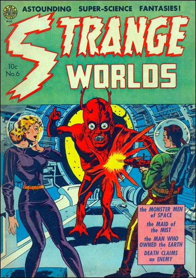 Strange Worlds (1950) 6-A by Avon
