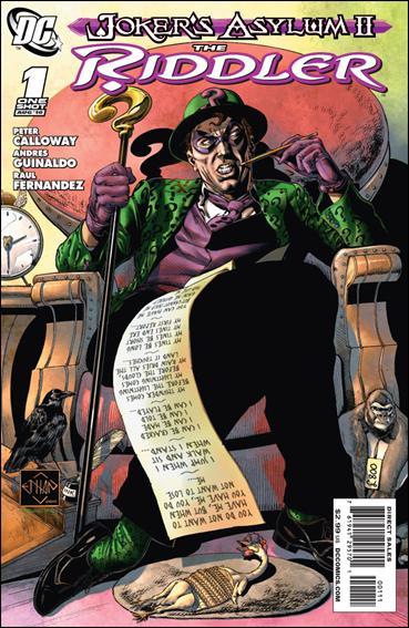 Joker's Asylum II: The Riddler 1-A by DC